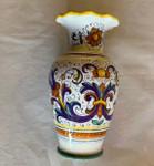 Sambuco Ruff Vase 19cm - Ricco Deruta