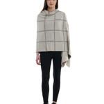 Darzzi Victoria Knitted Shawl - Beige / Tan