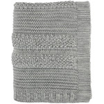 Darzzi Newton Knitted Throw - Grey Melange