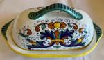 Sambuco Butter Dish 18cm - Ricco Deruta
