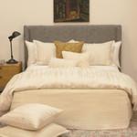 Ann Gish Escama Duvet Cover - Cream