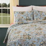 C&F Bethany Quilt Set - Blue