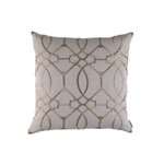 Copy of Lili Alessandra Magic Square Pillow - Light Sand/ Dark Sand