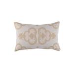 Lili Alessandra Nina Small Rectangle Pillow - Light Sand / Gold / Dark Sand