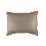 Lili Alessandra Gigi Matelassé Standard Pillow - Taupe