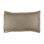 Lili Alessandra Gigi Matelassé King Pillow - Taupe