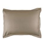 Lili Alessandra Gigi Matelassé Luxe Euro Pillow - Taupe