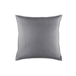 Lili Alessandra Retro Pewter Cotton Euro Pillow