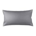 Lili Alessandra Retro Pewter Cotton King Pillow