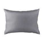 Lili Alessandra Retro Pewter Cotton Luxe Euro Pillow