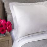 Lili Alessandra Guiliano Sheet Set - White / White