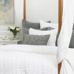Elisabeth York Avon Pillow - Silver Moss