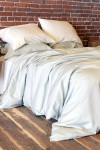 Bamboo Dreams® Twill Comforter Cover - Pale Jade