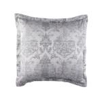 Lili Alessandra Medici European Pillow - Silver Grey