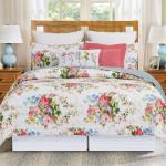 C&F Cottage Rose Quilt Set