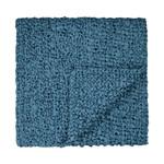 Ann Gish Ribbon Knit Throw - Azure