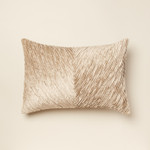 Amity Home Beatrix Pillow - Platinum