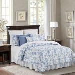 C&F Home Bleighton Blue Quilt Set