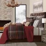 HiEnd Accents Jacson Plaid Comforter Set