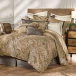 HiEnd Accents Piedmont Paisley Comforter Set