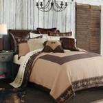 HiEnd Accents Star Ranch Reversible Quilt Set