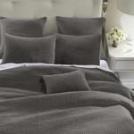 HiEnd Accents Stonewashed Cotton Velvet Quilt Set - Gray