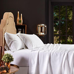 Orchids Lux Home Merida Sheet Set - White