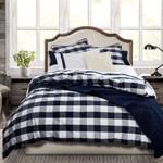 HiEnd Accents Camille Comforter Set - Navy