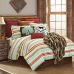 HiEnd Accents Serape Stripe Comforter Set