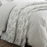 HiEnd Accents Warshack Gray Duvet Cover