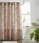 Amity Home Le Poet Shower Curtain - Burnt Orange