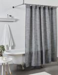 Amity Home Jerome Shower Curtain - Indigo Blue