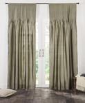 Amity Home Carlisle Silk Curtain - Laurel