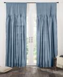 Amity Home Carlisle Silk Curtain - Limestone