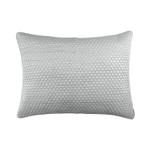 Lili Alessandra Valentina Quilted Luxe Euro Pillow - Aquamarine