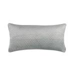 Lili Alessandra Valentina Quilted Lg Rectangle Pillow - Aquamarine
