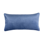 Lili Alessandra Valentina Quilted Lg Rectangle Pillow - Azure