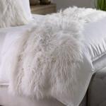 Lili Alessandra Coco Throw -White Faux Fur