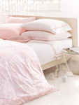 Pine Cone Hill Genevieve Pale Rose Duvet Cover