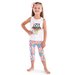 Mud Pie Owl Top/Pant Set - 2T-4T
