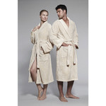 Kassatex Kassasoft Supima Bath Robe - Bisque