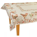 Jacquard Weave French Farm Tablecloth - La Ferme Tapestry