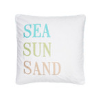 Levtex Biscayne Sea-Sun-Sand Pillow