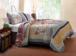 Greenland Home Geneva Twin Quilt Set
