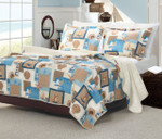 Greenland Home Beachcomber Quilt Set