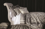 Lili Alessandra Versailles Silver Duvet Cover