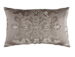 Lili Alessandra Morocco Small Rectangle Pillow - Taupe / Fawn Velvet