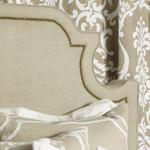 Lili Alessandra Marilyn Upholstered Headboard - Natural Linen