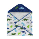 Kassatex Bambini Dino Park Hooded Towel