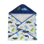 Kassatex Bambini Dino Park Hooded Towel